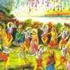 Download      radha krishna holi raslila,      radha krishna holi raslila  Wallpaper download for Desktop, PC, Laptop.      radha krishna holi raslila HD Wallpapers, High Definition Quality Wallpapers of      radha krishna holi raslila.