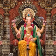 Lalbaugcha Raja Wallpaper