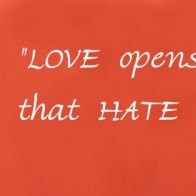 Love Opens The Door