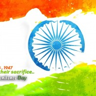 15 Augush 1947 Happy Independence Day Hd Wallpaper