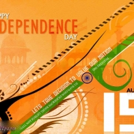 15 August Happy Independence Day Hd Wallpaper