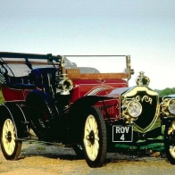 1907 Rover 20 Hp Tourer Wallpaper