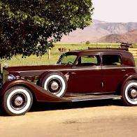 1934 Packard 1108 Wallpaper