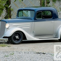1935 Chevy Coupe Custom Wallpaper