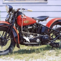 1936 Harley Davidson Wallpaper