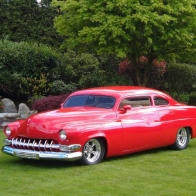 1951 Mercury Custom Wallpaper