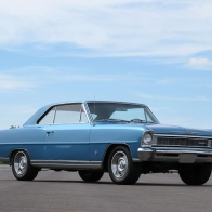 1966 Chevy Ii Super Sport Wallpaper