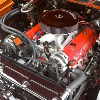 1970 Chevrolet Chevelle Engine Wallpaper