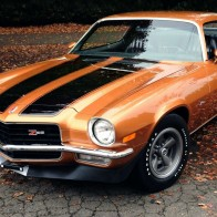 1971 Chevrolet Camaro Coupe Wallpaper