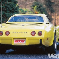 1975 Chevy Corvette Backside Wallpaper