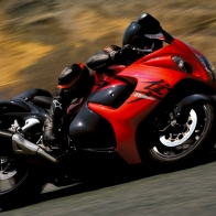 2008 Suzuki Hayabusa Speed Wallpapers