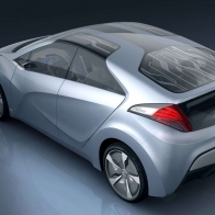 2009 Hyundai Blue Will Concept 2 Hd Wallpapers
