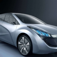 2009 Hyundai Blue Will Concept Hd Wallpapers