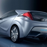 2009 Hyundai Blue Will Concept Rear Hd Wallpapers