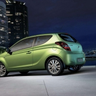 2009 Hyundai Three Door I20 Hd Wallpapers