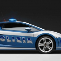 2009 Lamborghini Police Car Hd Wallpapers