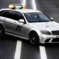 2009 Mercedes Benz F1 Medical Car Hd Wallpapers