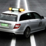 2009 Mercedes Benz F1 Medical Car Rear Hd Wallpapers