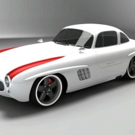 2009 Mercedes Benz Sl Gullwing Panamericana 3 Hd Wallpapers