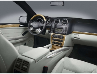 2009 Mercedes Benz Suv Interior Hd Wallpapers