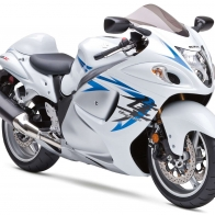 2009 Suzuki Hayabusa Gsx 1300 White Wallpapers
