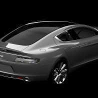 2010 Aston Martin Rapide Rear Wallpapers