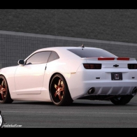 2010 Fesler Moss Chevrolet Camaro Limited Edition Rear Angle Wallpaper