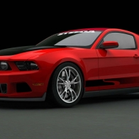 2010 Ford Mustang At Sema 2009 3 Hd Wallpapers