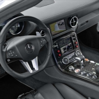 2010 Mercedes Benz Sls Amg F1 Safety Car Interior Hd Wallpapers