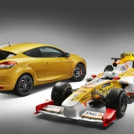 2010 New Megane Renault Sport 3 Hd Wallpapers