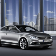 2010 Volkswagen Compact Coupe Hybrid Concept Car