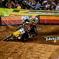2011 Ama Supercross Martin Davalos Wallpaper