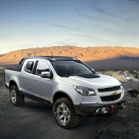 2011 Chevrolet Colorado Rally Concept 3 Hd Wallpapers