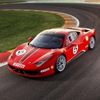 2011 Ferrari 458 Challenge Hd Wallpapers
