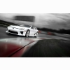 2011 Lexus Lfa Rain Race Hd Wallpapers