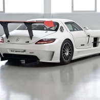 2011 Mercedes Benz Sls Amg Gt3 2 Hd Wallpapers