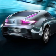 2011 Nissan Electric Sports Concept Car 2 Hd Wallpapers