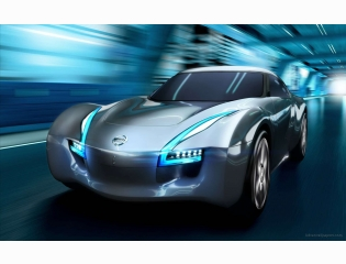 2011 Nissan Electric Sports Concept Car Hd Wallpapers
