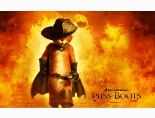 2011 Puss In Boots Movie Wallpapers