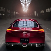 2011 Toyota Ft 86 Sports Concept 4 Wallpapers
