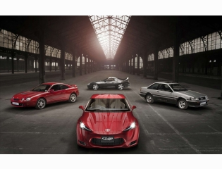 2011 Toyota Ft 86 Sports Concept Wallpapers