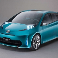 2011 Toyota Prius C Concept Wallpapers