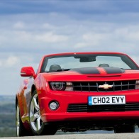 2012 Chevrolet Camaro Convertible Hd Wallpapers