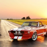 2012 Classic Shelby Gt 500cr Convertible Hd Wallpapers