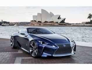 2012 Lexus Lf Lc Blue Concept Hd Wallpapers