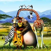 2012 Madagascar 3 Wallpapers