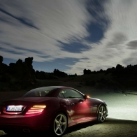 2012 Mercedes Benz Slk Roadster 2 Hd Wallpapers