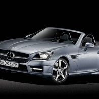 2012 Mercedes Benz Slk Roadster 3 Hd Wallpapers