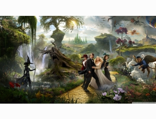2013 Oz The Great And Powerful Movie Wallpaper