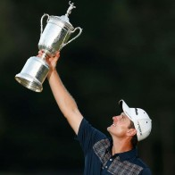 2013 Us Open De Golf Justin Rose Wallpaper